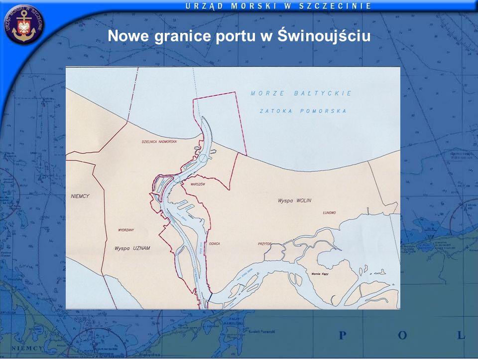 Nowe granice portu w Świnoujściu