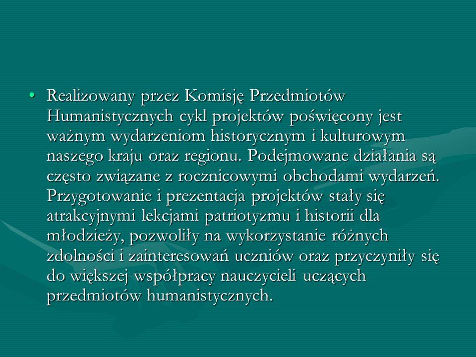 Projektom towarzyszyły szkolne konkursy wiedzy, których zwycięzcy oraz uczniowie i nauczyciele zaangażowani w realizację przedsięwzięcia, uczestniczyli w organizowanych w ramach projektu wycieczkach przedmiotowych: Zabytki Puław (wycieczka w Puławach) oraz Muzea poświęcone życiu i twórczości Fryderyka Chopina (zwiedzanie muzeów w Warszawie i Żelazowej Woli).