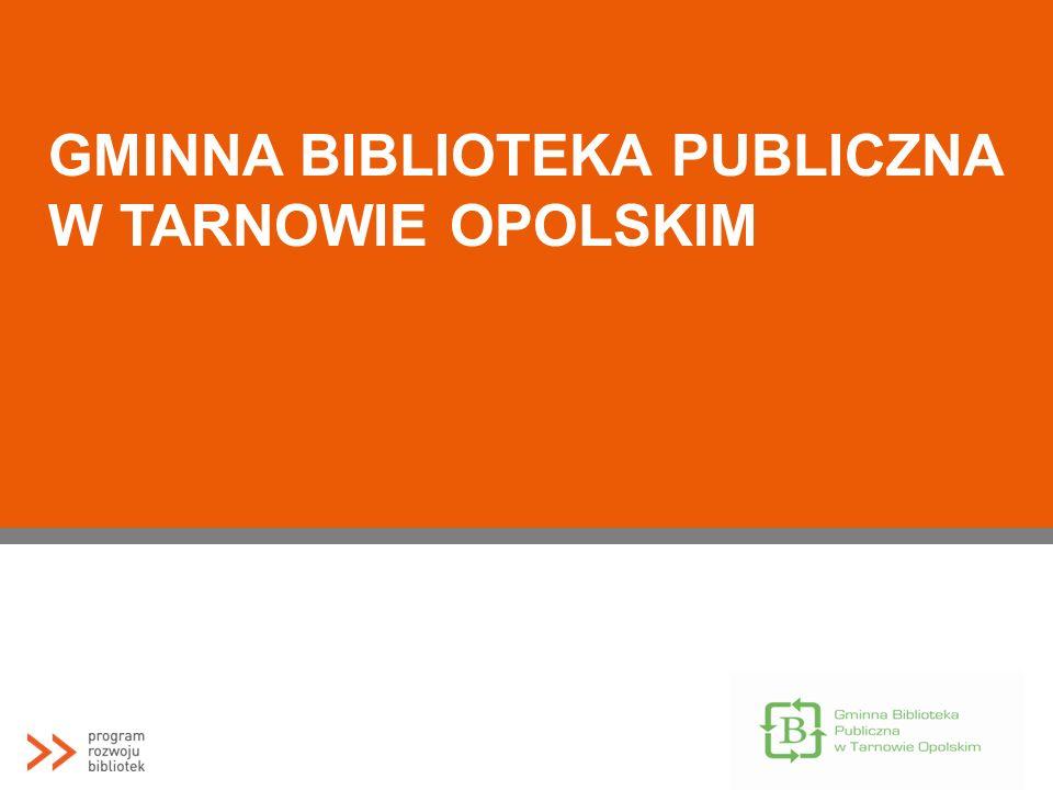 Biuletyn Biblioteczka http://www.gbp- tarnowopolski.wbp.opole.pl/index.php?option=com_co ntent&view=article&id=260%3Abiblioteczka- 13&catid=37%3Abiuletyn-biblioteczka&Itemid=1\ Wydawany jest przez GBP w Tarnowie od 2002 Ukazuje się nieregularnie, dotychczas powstało 13 numerów, Nakład to ok.