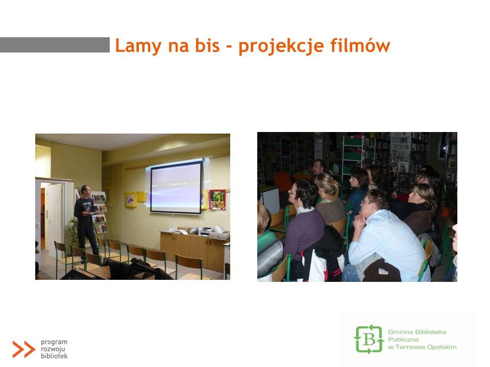 Lamy na bis - projekcje filmów