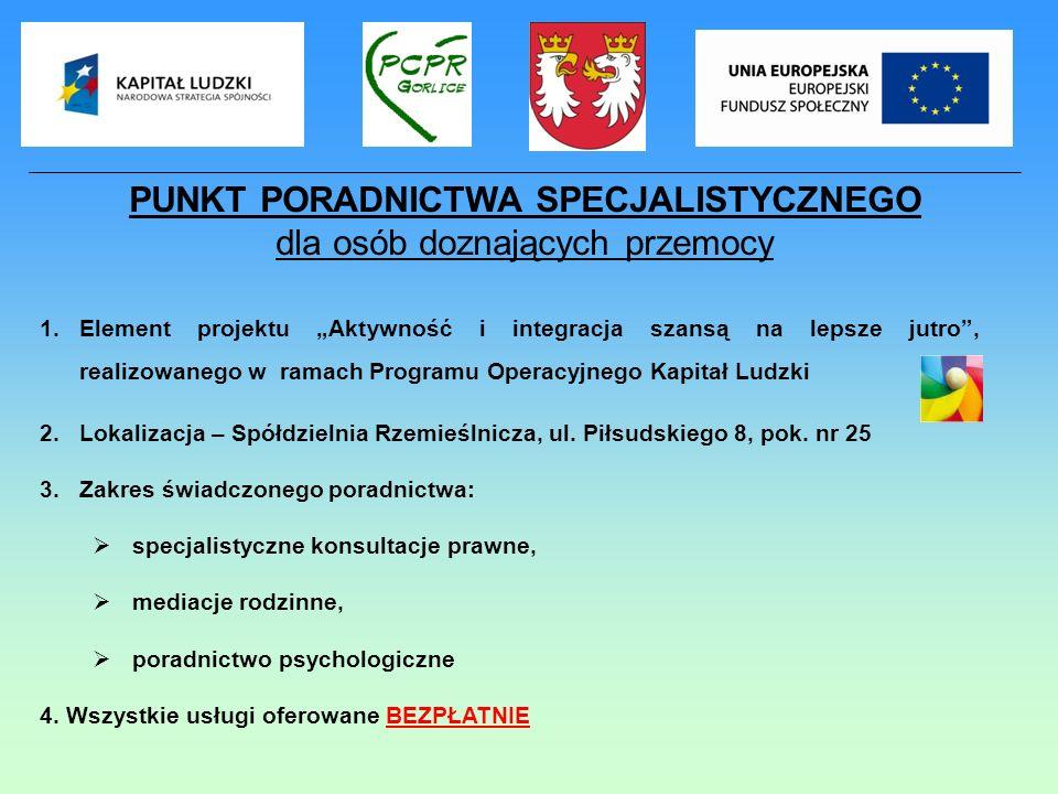 1.Element projektu Aktywność i integracja szansą na lepsze jutro, realizowanego w ramach Programu Operacyjnego Kapitał Ludzki 2.Lokalizacja – Spółdzie