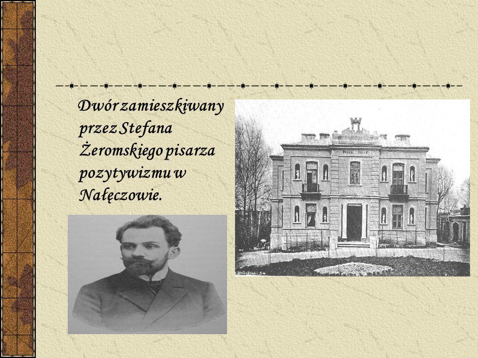 Dwór Mikołaja Reja poety epoki renesansu w Nagłowicach.