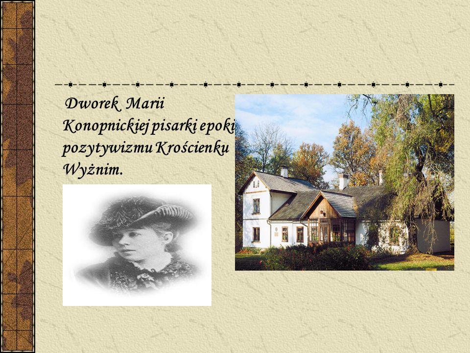 Dworek w Jankowicach zamieszkały przez powiescio -pisarza Stanisława Reymonta tworzącego w epoce Młodej Polski.