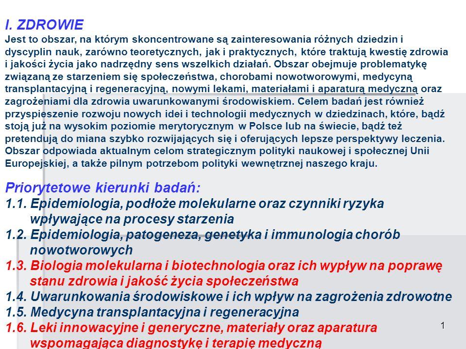 12 VI.NOWE MATERIAŁY I TECHNOLOGIE 6.1.
