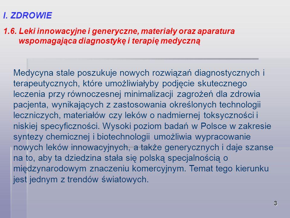 14 VI.NOWE MATERIAŁY I TECHNOLOGIE 6.3.