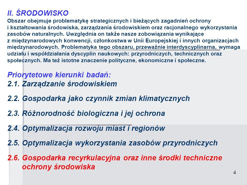 15 VI.NOWE MATERIAŁY I TECHNOLOGIE 6.4.