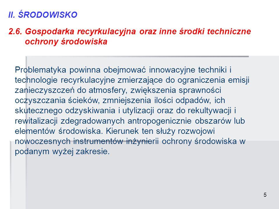 16 VI.NOWE MATERIAŁY I TECHNOLOGIE 6.5.
