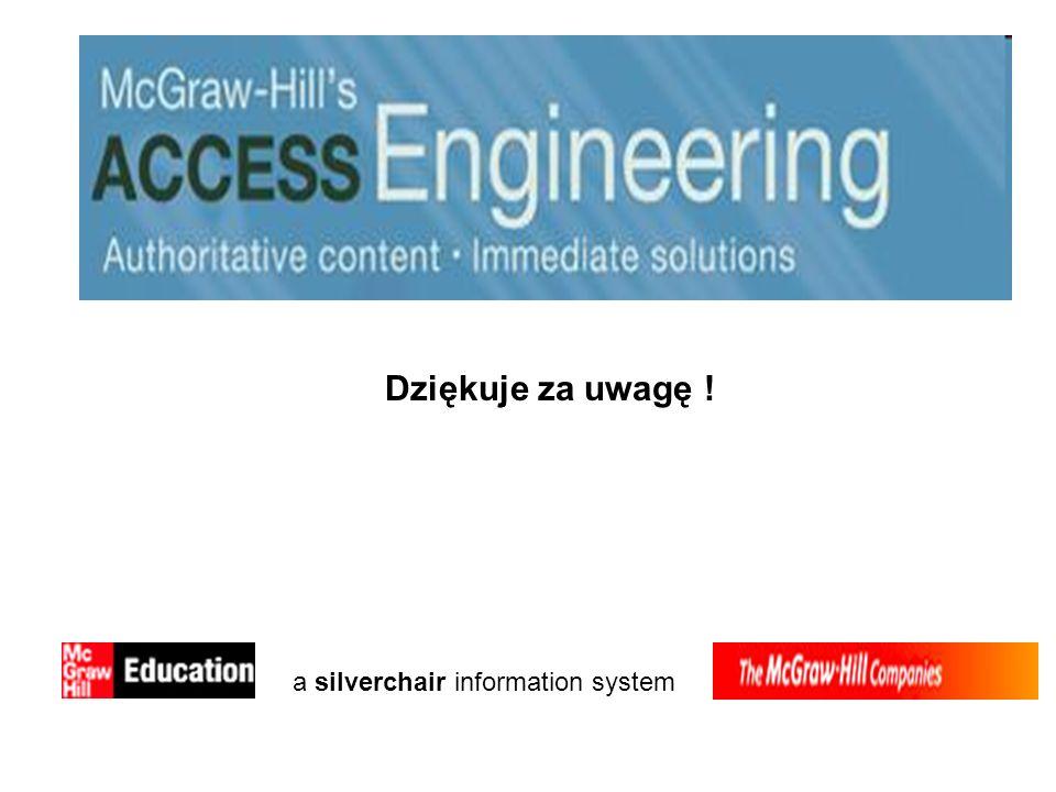 Dziękuje za uwagę ! a silverchair information system