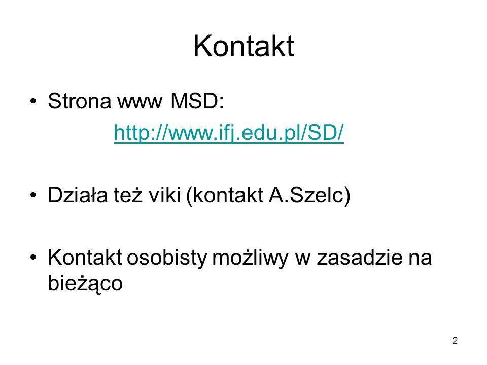 3 Program studiów: I rok Prof.dr hab.