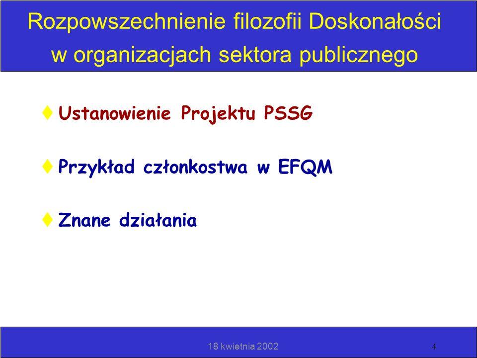 18 kwietnia 20023 Sektor publiczny w Europie - Segmentacja sektora publicznego Więcej zainteresowania ze strony wszystkich kategorii organizacji sekto