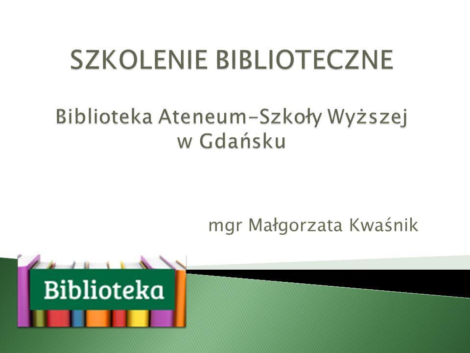 mgr Małgorzata Kwaśnik