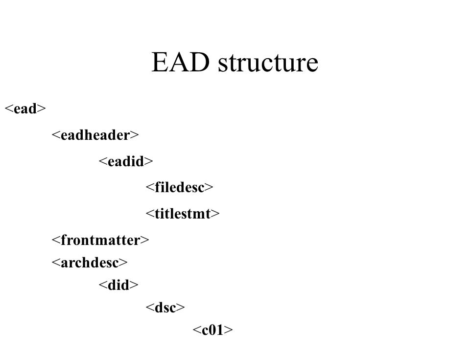 EAD structure