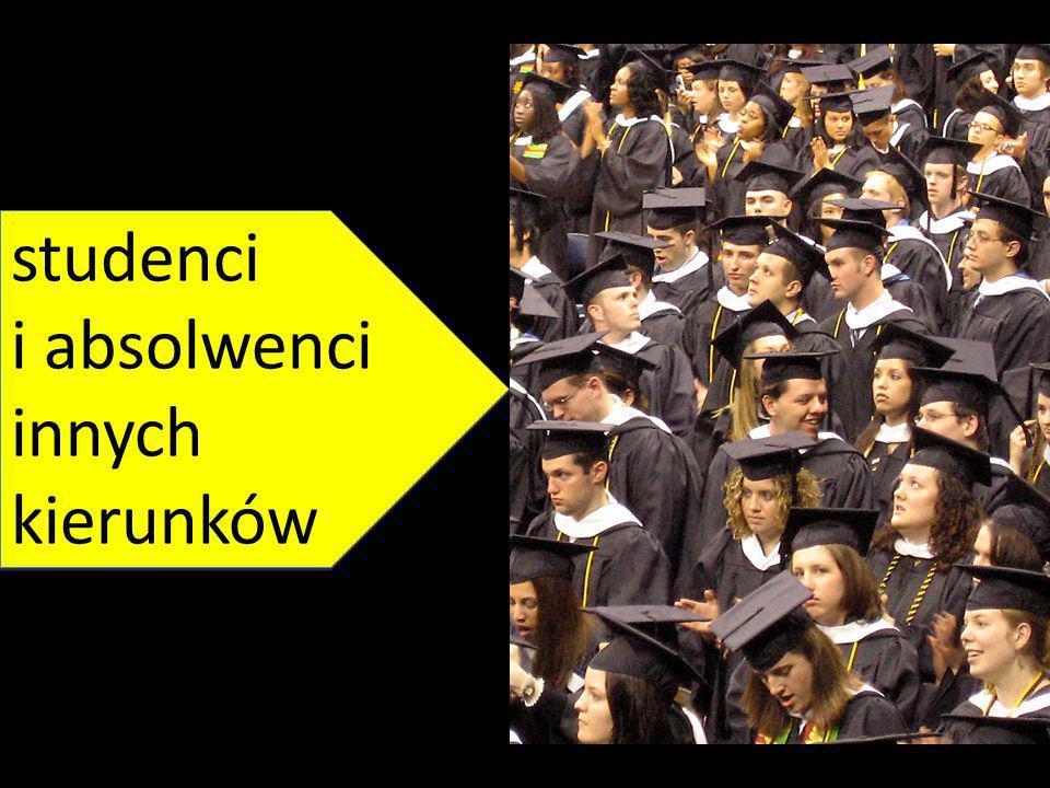 http://upload.wikime dia.org/wikipedia/co mmons/archive/3/3a /20100706195439!C ollege_graduate_stu dents.jpg studenci i absolwenci innych kierunków studenci i absolwenci innych kierunków