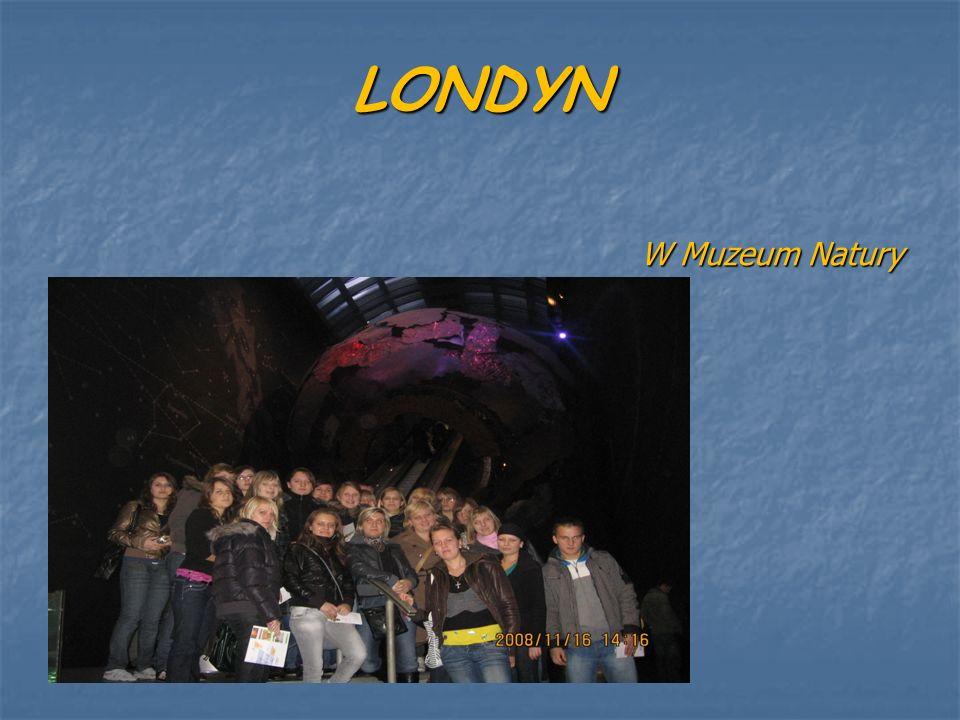 LONDYN W Muzeum Natury
