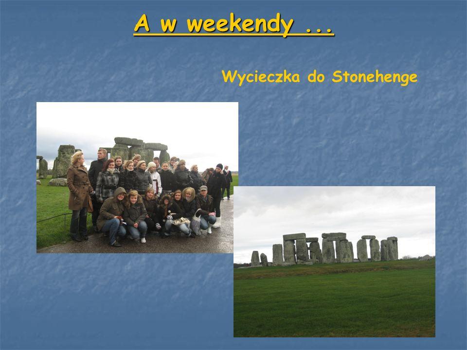 A w weekendy... Wycieczka do Stonehenge