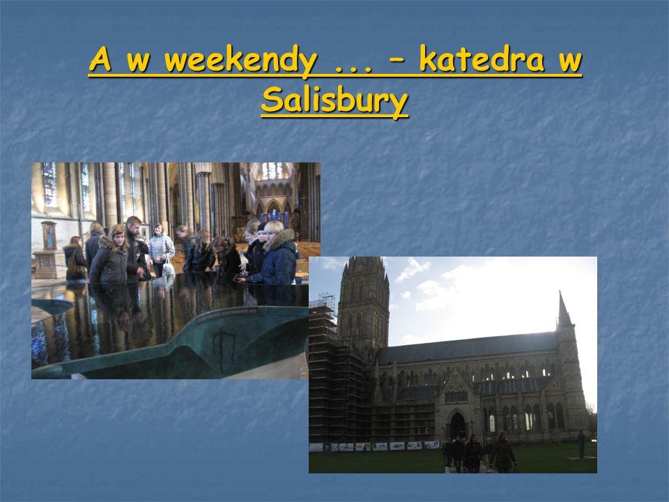 A w weekendy... – katedra w Salisbury