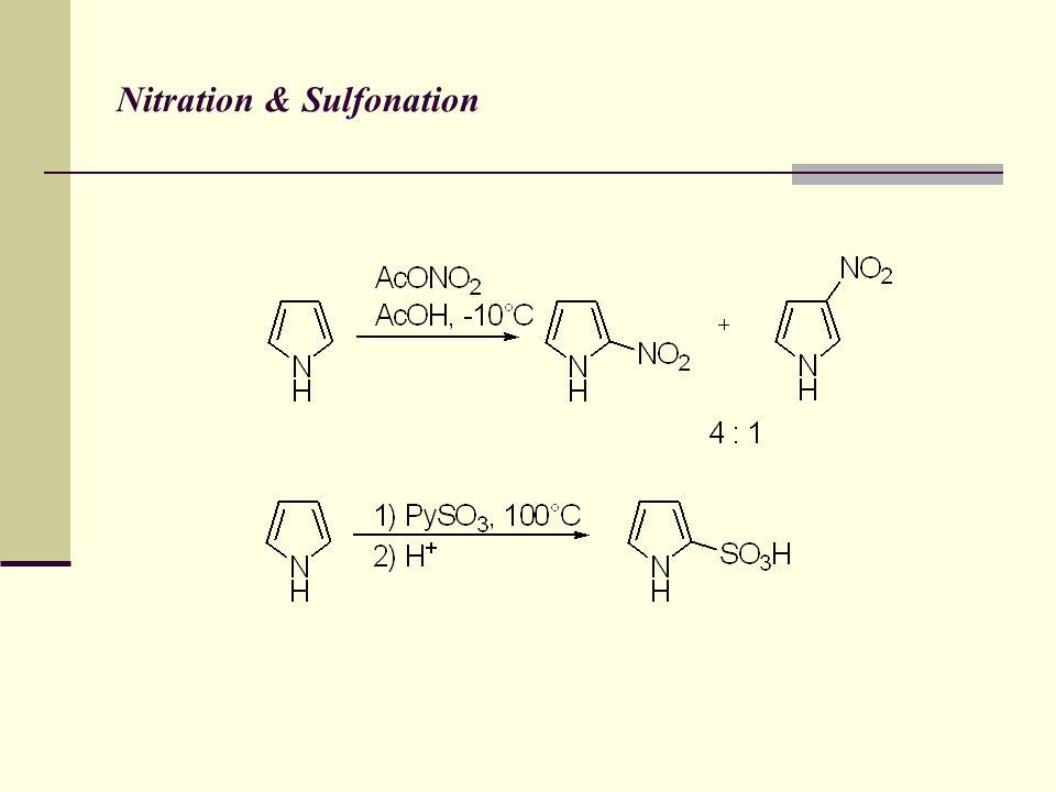Nitration & Sulfonation