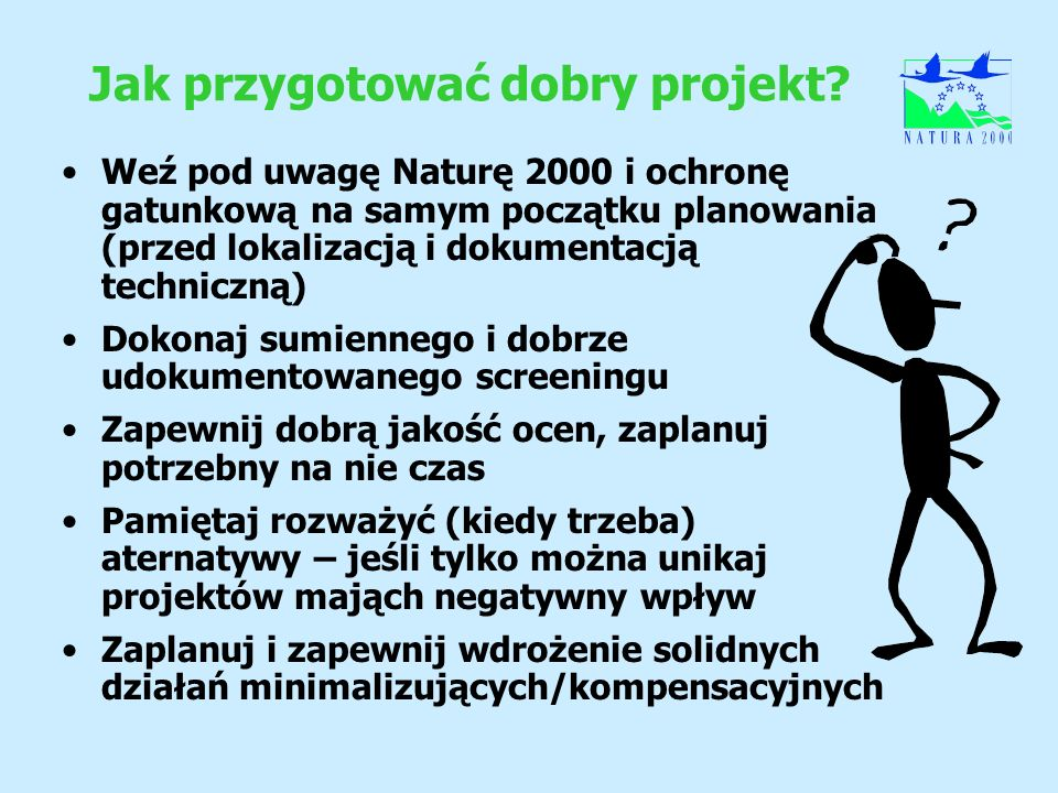 Jak przygotować dobry projekt? Weź pod uwagę Naturę 2000 i ochronę gatunkową na samym początku planowania (przed lokalizacją i dokumentacją techniczną