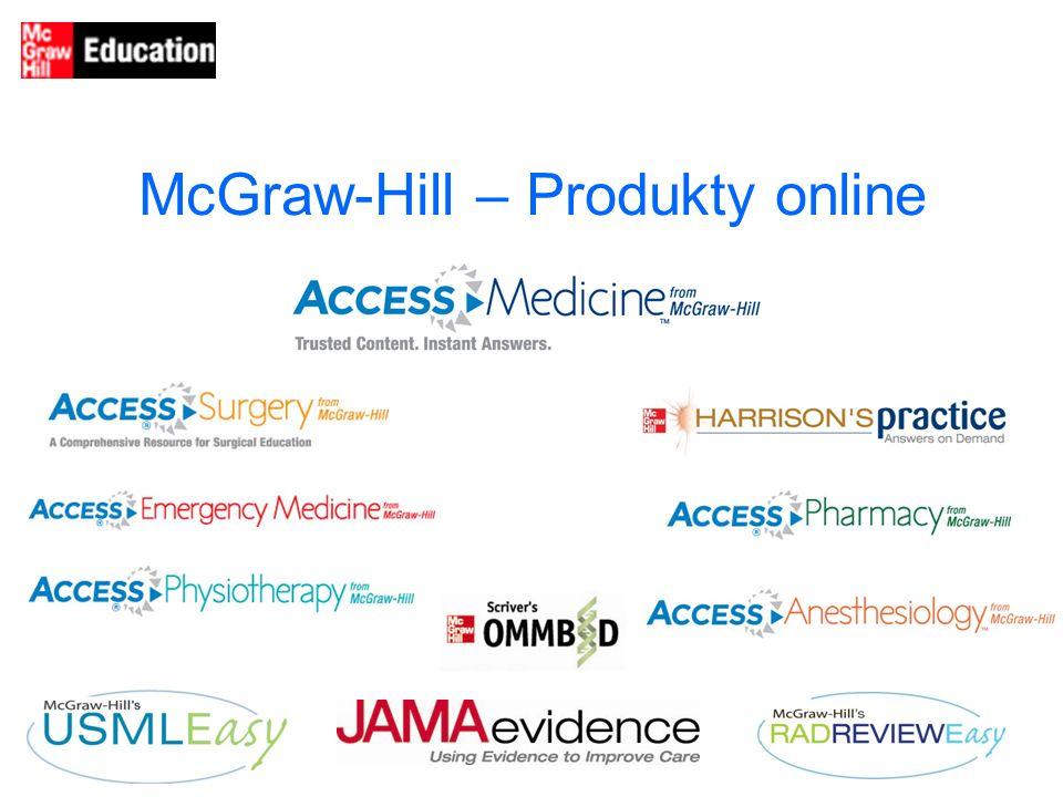 McGraw-Hill – Produkty online