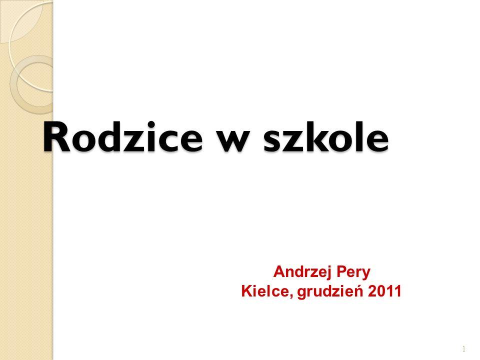 Rodzice w szkole 1 Andrzej Pery Kielce, grudzień 2011