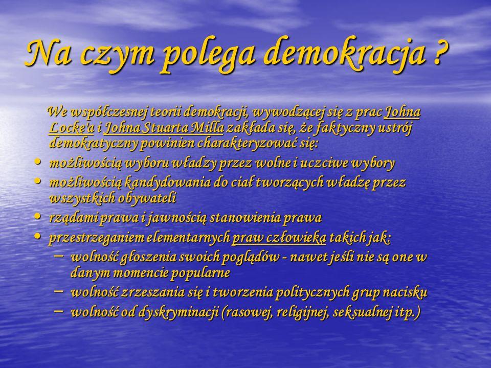 Początki demokracji W 508/507 roku p.n.e.