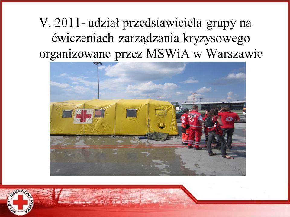 IX. 2011 warsztaty ratownicze w Orlu