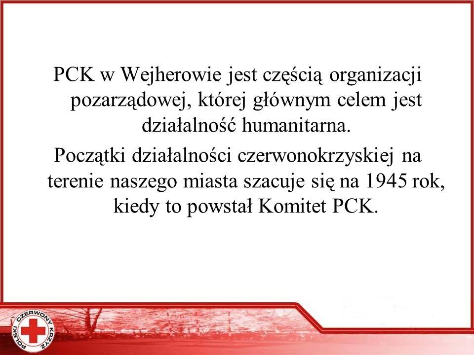 Obecnie przy ZR działają niżej wymienione jednostki: -Grupa Ratownictwa PCK - Społeczni Instruktorzy Młodzieżowi PCK -Szkolne Koła PCK -Kluby Honorowych Dawców Krwi