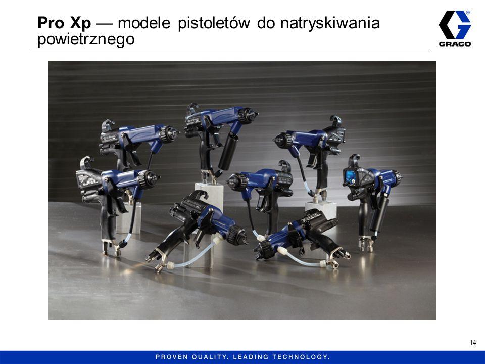 Pro Xp modele pistoletów do natryskiwania powietrznego 14