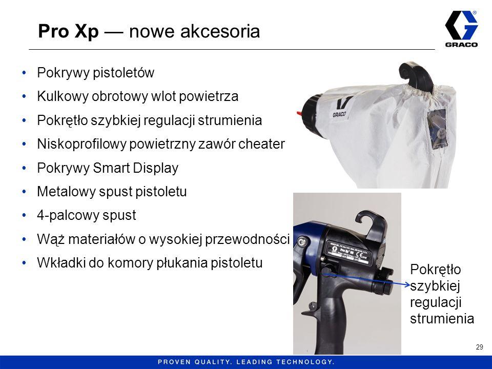 Pro Xp nowe akcesoria Pokrywy pistoletów Kulkowy obrotowy wlot powietrza Pokrętło szybkiej regulacji strumienia Niskoprofilowy powietrzny zawór cheate