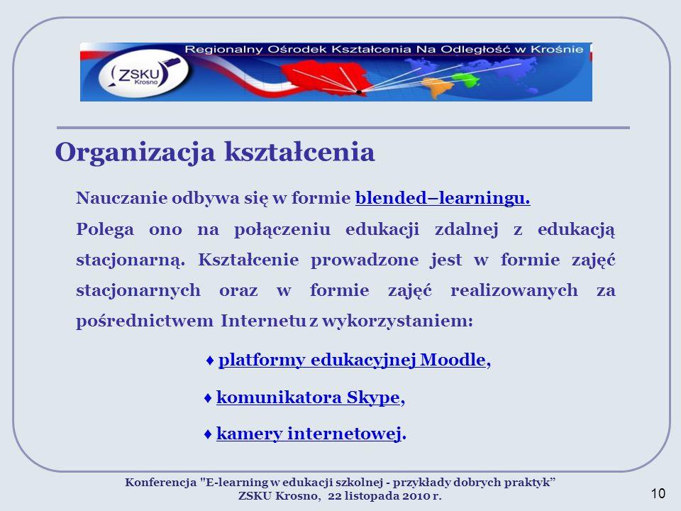 Organizacja kształcenia Konferencja