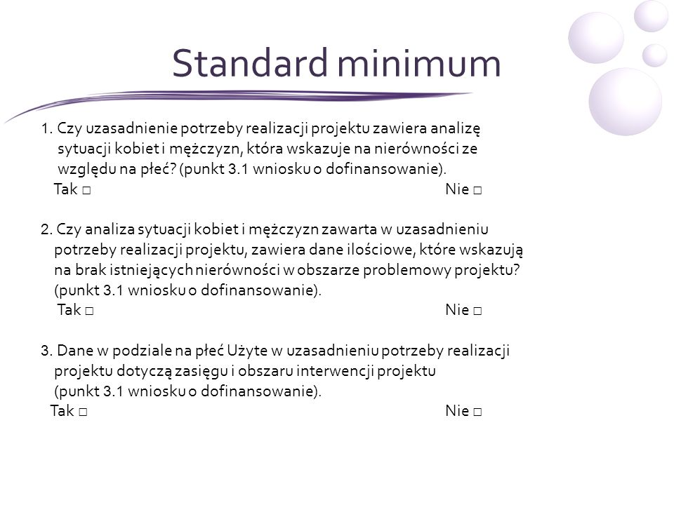 Standard minimum – c.d.4.