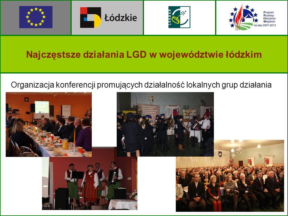 Organizacja konferencji promujących działalność lokalnych grup działania