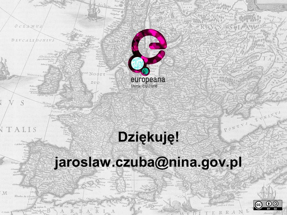 Dziękuję! jaroslaw.czuba@nina.gov.pl