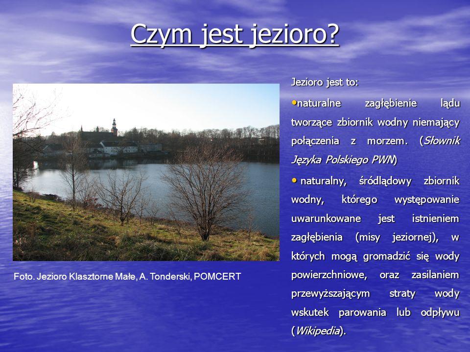 Źródła zanieczyszczeń antropogenicznych Jeziora Klasztornego Małego.