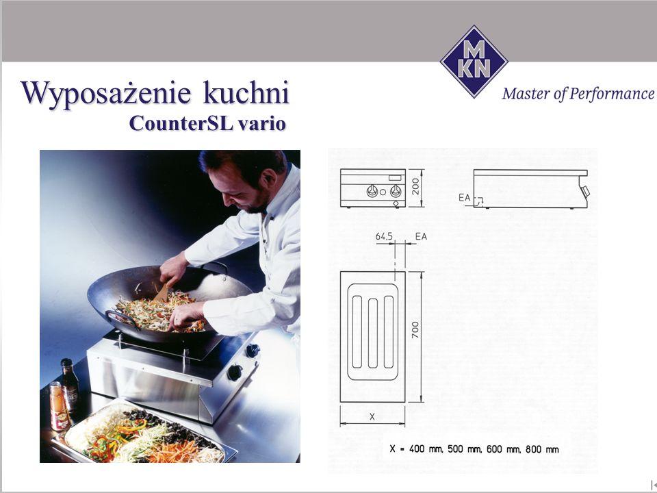 CounterSL vario Wyposażenie kuchni