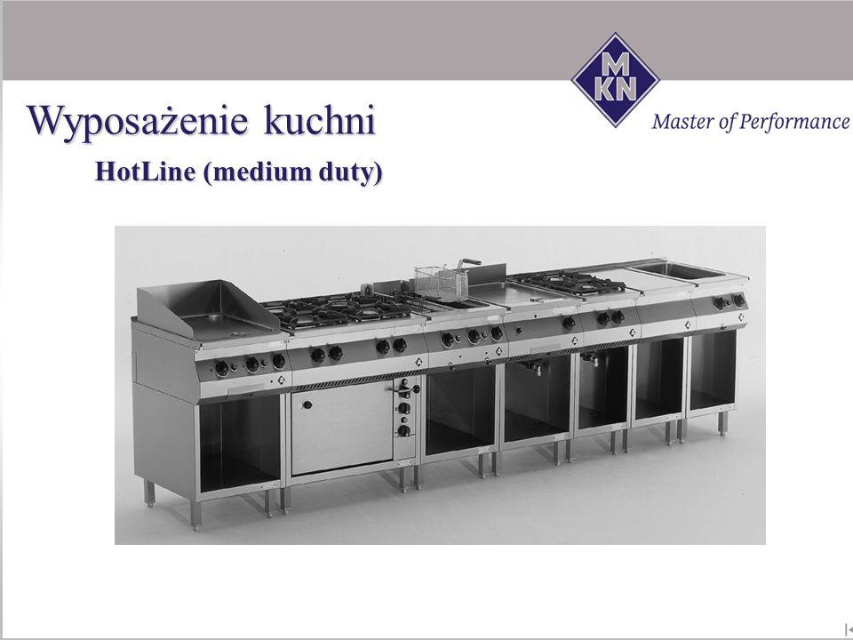 HotLine (medium duty) Wyposażenie kuchni