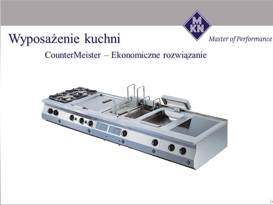 CounterMeister – Ekonomiczne rozwiązanie Wyposażenie kuchni