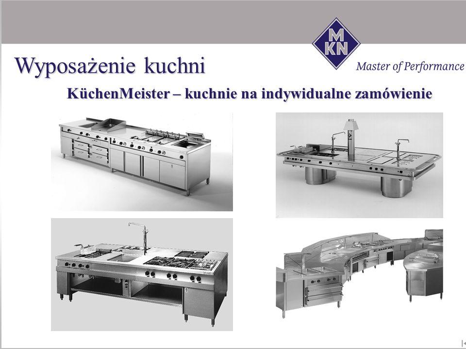 KüchenMeister – kuchnie na indywidualne zamówienie Wyposażenie kuchni