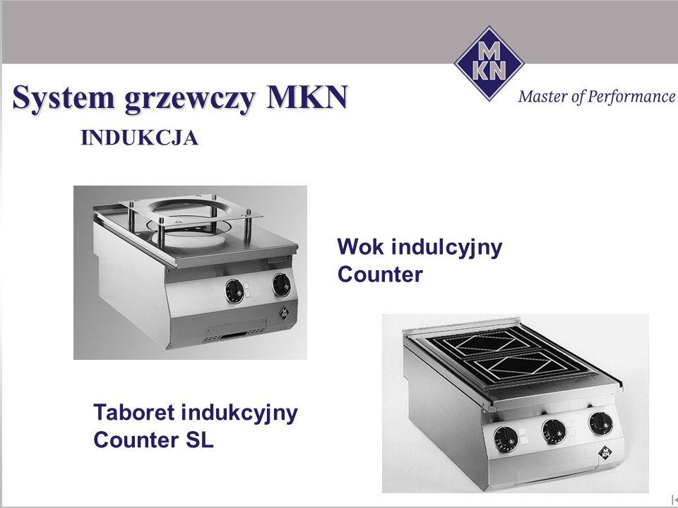 Wok indulcyjny Counter SL Taboret indukcyjny Counter SL INDUKCJA System grzewczy MKN