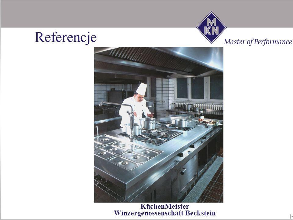 KüchenMeister Winzergenossenschaft Beckstein Referencje