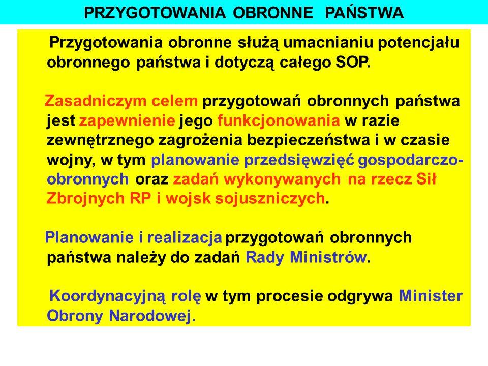 1. Przygotowania obronne militarnej części SOP