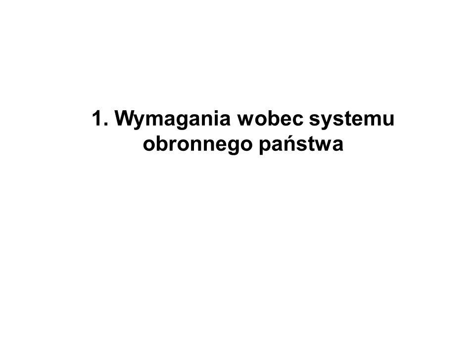 SYSTEM OBRONNY PAŃSTWA (SOP) dla zapewnienia realizacji interesów narodowych i celów strategicznych w dziedzinie bezpieczeństwa Rzeczpospolita Polska organizuje i rozwija zintegrowany system bezpieczeństwa narodowego.