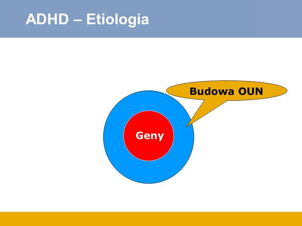ADHD – Etiologia Geny Budowa OUN