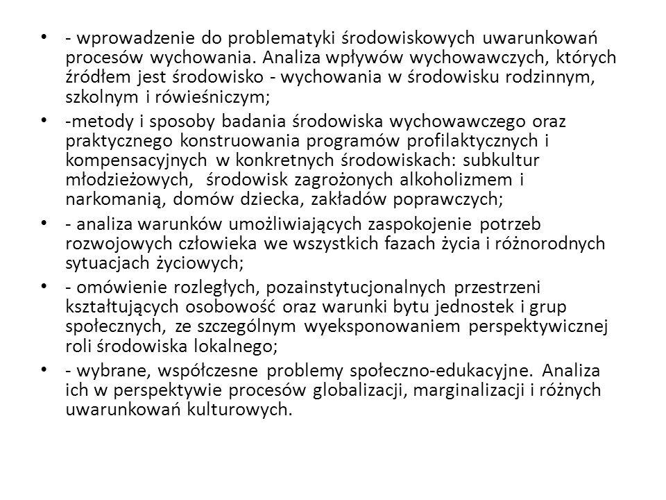 SOCJALIZACJA - (z łac.