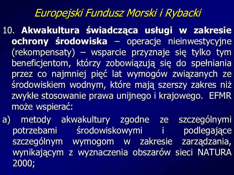 Europejski Fundusz Morski i Rybacki 10.