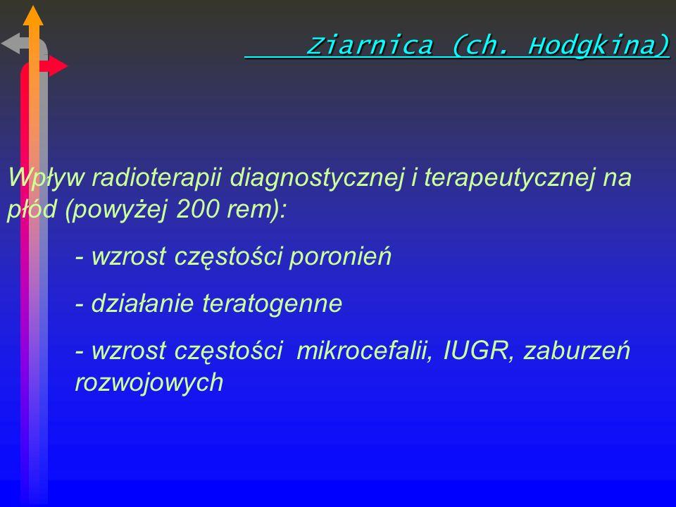 Ziarnica (ch.Hodgkina) Ziarnica (ch.