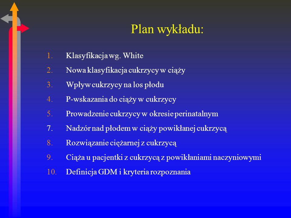 Plan wykładu: 1.Klasyfikacja wg.