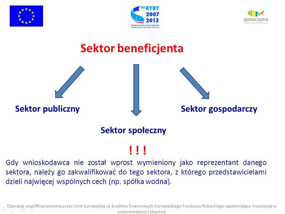 Restrukturyzacja i reorientacja działalności gospodarczej oraz dywersyfikacja zatrudnienia osób mających pracę związaną z sektorem rybactwa, w drodze tworzenia dodatkowych miejsc pracy poza tym sektorem DOFINANSOWANIE: Refundacja do 60% kosztów kwalifikowanych operacji ISTNIEJE MOŻLIWOŚĆ UZYSKANIA ZALICZKI W WYSOKOŚCI 100% WNIOSKOWANEJ KWOTY DOFINANSOWANIA.