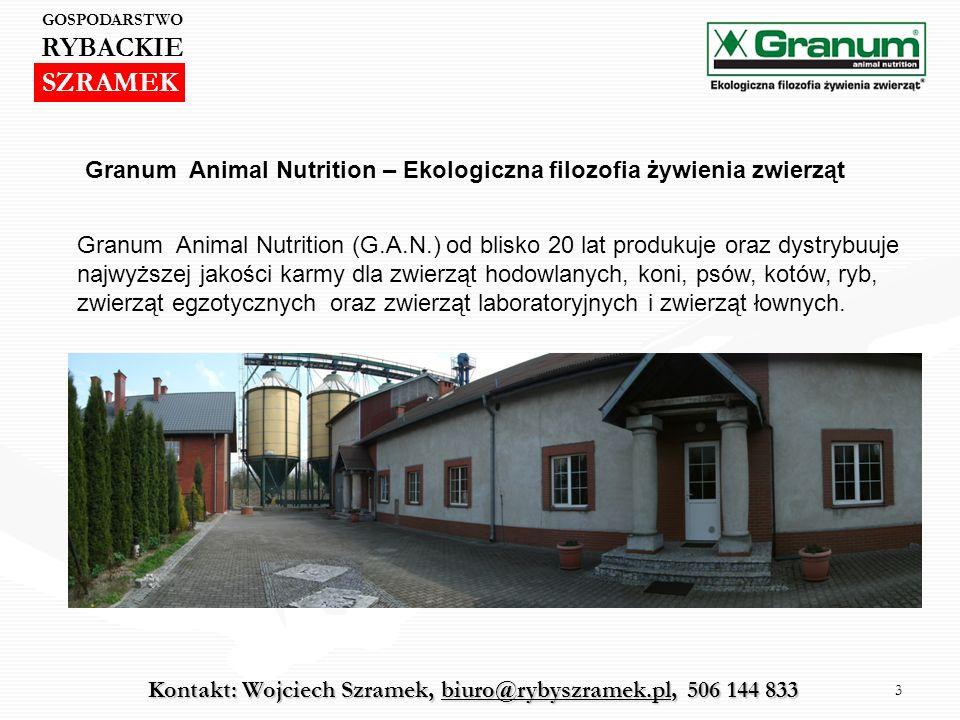 3 Granum Animal Nutrition (G.A.N.) od blisko 20 lat produkuje oraz dystrybuuje najwyższej jakości karmy dla zwierząt hodowlanych, koni, psów, kotów, r