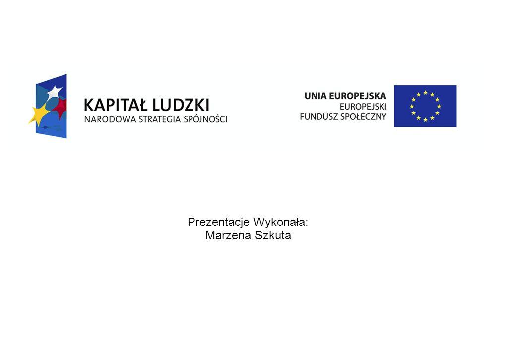 Prezentacje Wykonała: Marzena Szkuta